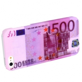 Coque billet 500€ iPhone 5
