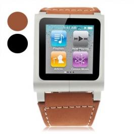Montre en cuir pour iPod Nano 6