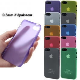 Coque ultra slim (0.3mm) pour iPhone 5