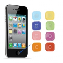 Bouton home couleur iPhone 5