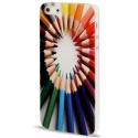 Coque crayons de couleur iPhone 5