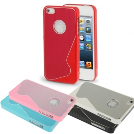 Coque wave design iPhone 5