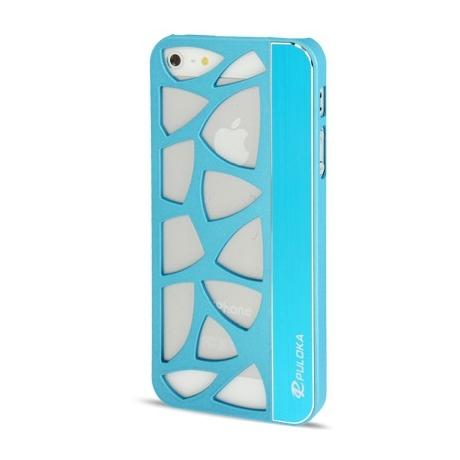 Coque en metal design mosaïque iPhone 5