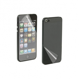 Protection d'écran + face arrière invisibles pour iPhone 5