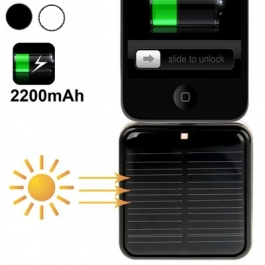 Batterie solaire externe iPhone 5