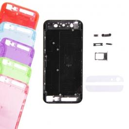 Kit Châssis transparent + boutons + bandes pour iPhone 5