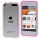 Bumper de protection en plastique pour iPod touch 5 couleur rose