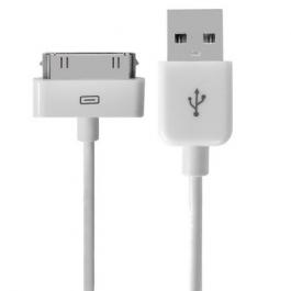 Câble iPhone de recharge et synchronisation (longueur et couleur au choix)