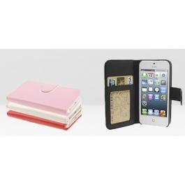 Housse porte-cartes en cuir iPhone 5