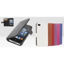 Housse porte-cartes en cuir iPhone 4 et 4S