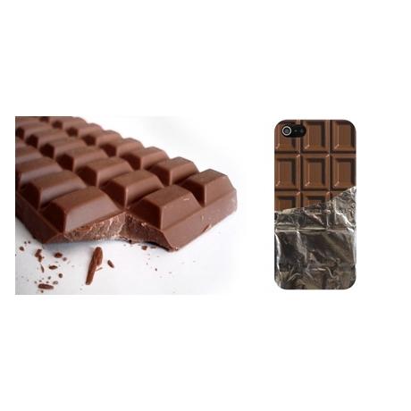Coque tablette de chocolat papier aluminium iPhone 5