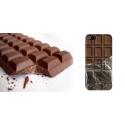 Coque tablette de chocolat papier aluminium iPhone 5/5S