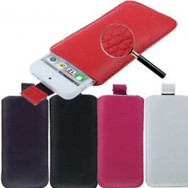 Housse en cuir pour iPhone 5 (couleur au choix)
