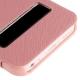 Housse à rabat iPhone 5C rose clair
