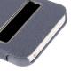 Housse à rabat iPhone 5C couleur bleu fonce