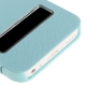 Housse à rabat iPhone 5C couleur bleu