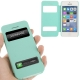 Housse à rabat iPhone 5C couleur vert