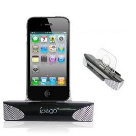 Dock enceintes stéréo compact pour iPhone et iPod