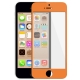 Vitre Tactile de remplacement iPhone 5C couleur orange