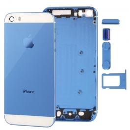 Châssis / Face arrière couleurs customs iPhone 5S couleur bleu