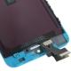 Ecran de remplacement complet iPhone 5 : LCD + dalle tactile + Cadre couleur bleu