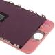 Ecran de remplacement complet iPhone 5 : LCD + dalle tactile + Cadre couleur rose clair