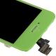 Ecran de remplacement complet iPhone 5 : LCD + dalle tactile + Cadre couleur vert