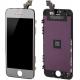 Ecran de remplacement complet iPhone 5 : LCD + dalle tactile + Cadre couleur argent