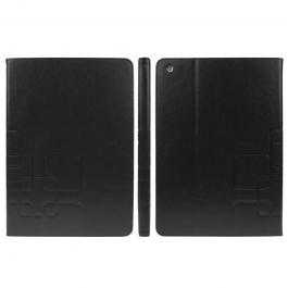 Etui iPad Air en cuir avec porte-cartes couleur noir