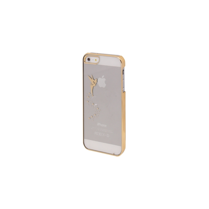 Coque fée clochette transparente iPhone 5/5S - Mobile-Store