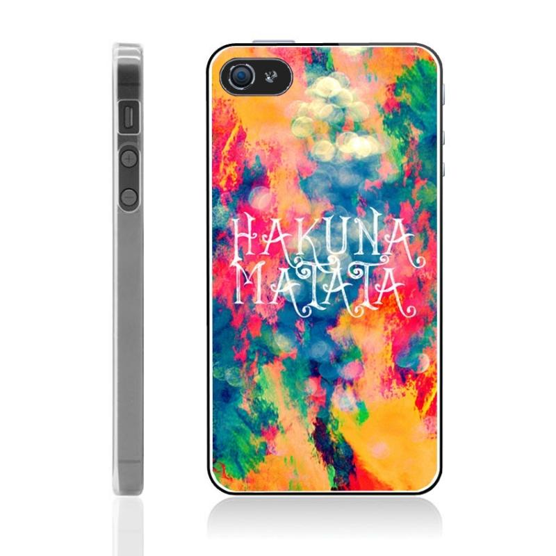 Coque iPhone 5 et 5S Hakuna Matata - Mobile-Store