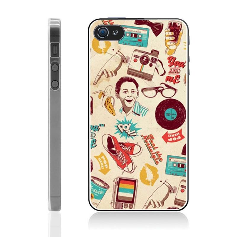coque iphone 5 et 5s vintage