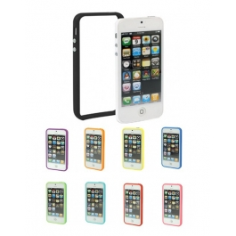 Bumper de protection en plastique pour iPhone 5