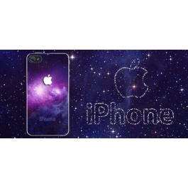 Coque iPhone 5 et 5S Galaxy logo Apple