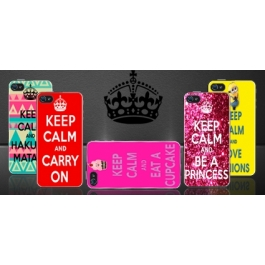 Coque iPhone 4 et 4S Keep Calm