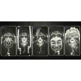 Coque iPhone 4 et 4S Monkey