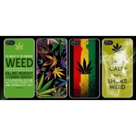 Coque iPhone 4 et 4S Weed