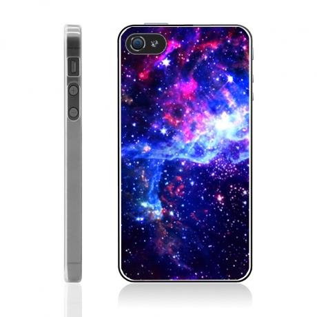 coque iphone 4 4s galaxie