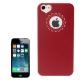 Coque iPhone 5 et 5S logo apple et objectif coeur