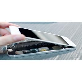 Ecran de remplacement complet iPhone 5S : LCD + dalle tactile + Cadre
