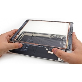 Vitre tactile iPad Air