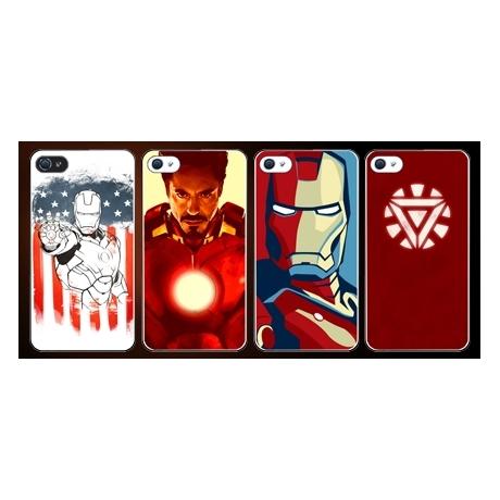 Coque iPhone 5 et 5S Iron Man Design - Mobile-Store